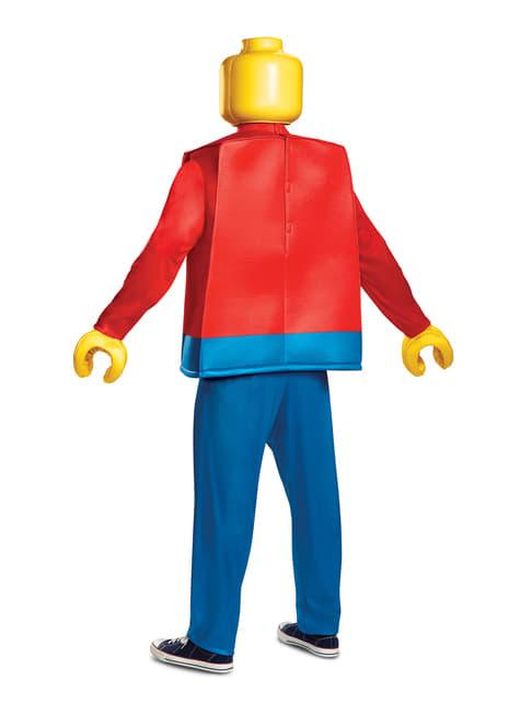 Disfraz de muñeco de Lego deluxe para adulto - adulto