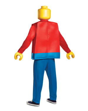 Deluxe Lego Figure costume for adults