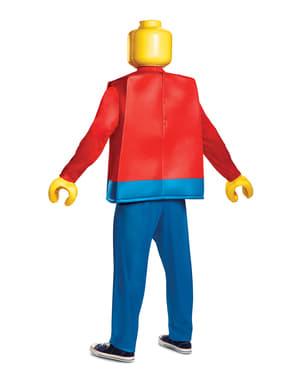 Fato de boneco de Lego deluxe para adulto