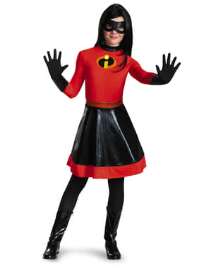 Fato de Violeta para adolescente - The Incredibles 2: Os Super-Heróis
