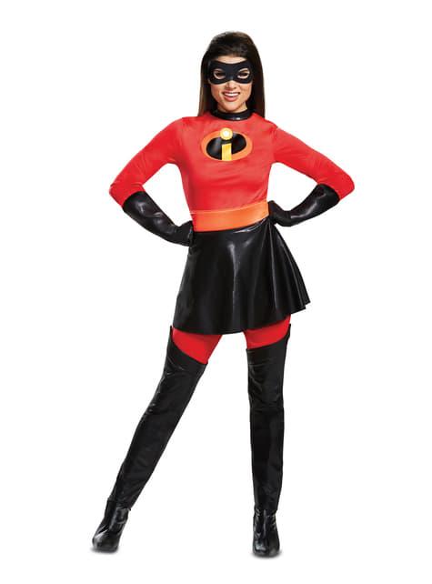 Deluxe Elasticgirl kostuum voor volwassenen - The Incredibles 2