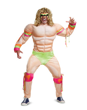 Disfraz de Ultimate Warrior para adulto - WWE