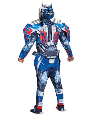 Deluxe Optimus Prime costume for adults