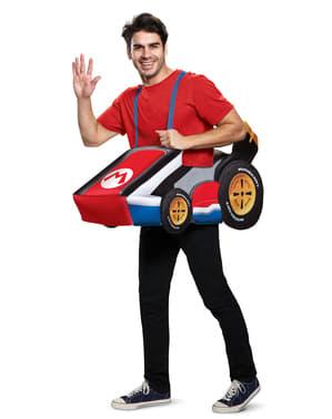 Déguisement kart de Mario adulte - Super Mario Bros