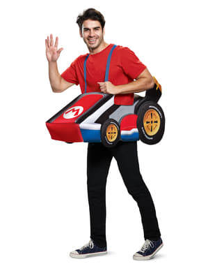 Super Mario Bros - Mario Kart kostume til voksne