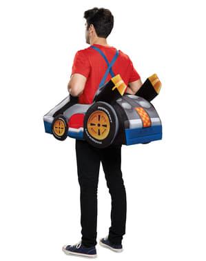 Mario Kart תחפושת למבוגרים - Super Mario Bros
