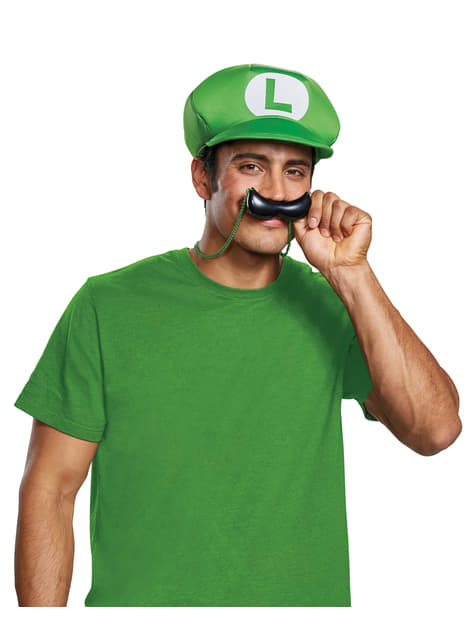 Kit de Luigi para adulto - Super Mario Bros