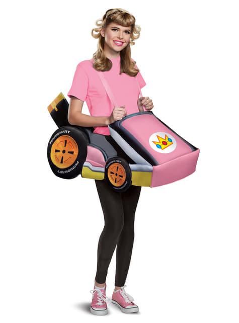 Strój auto księżniczka Peach - Super Mario Bros