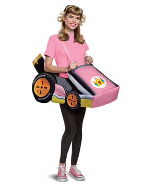 Prinsesse Peach gokart kostyme - Super Mario Bros