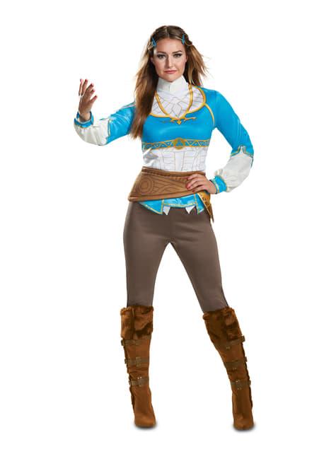 Disfraz de Zelda Breath Of the Wild para mujer - La Leyenda de Zelda