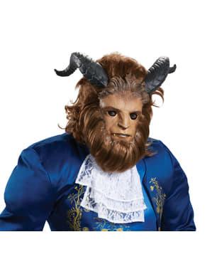 Skøneden og udyret - Ultra prestige udyr maske til voksne