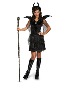 Deluxe Maleficent costume for teenagers