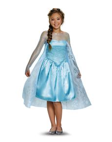 Disfraz de Elsa Frozen para adolescente