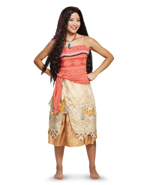 Deluxe Moana costume for adults