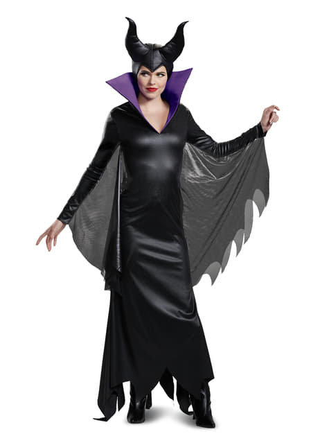 Deluxe Maleficent costume for adults
