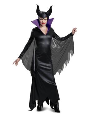 Deluxe Maleficent kostume til voksne