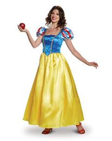 Disfraz de Blancanieves deluxe para adulto