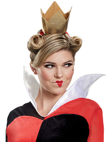 Deluxe Queen of Hears costume for adults - Alice in Wonderland