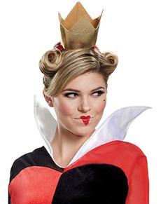 Deluxe Queen of Hears kostuum voor volwassenen - Alice in Wonderland