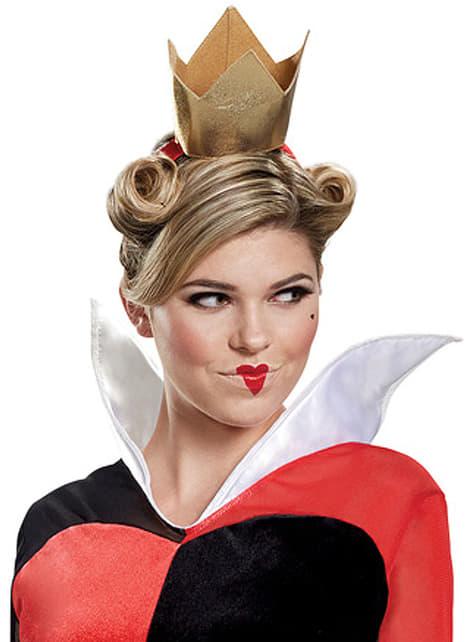 Costum Regina de Inimi deluxe pentru adult - Alice în Țara Minunilor