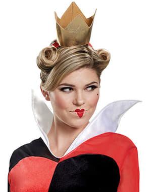 Costume di Regina di Cuori deluxe per adulto - Alice nel Paese delle meraviglie