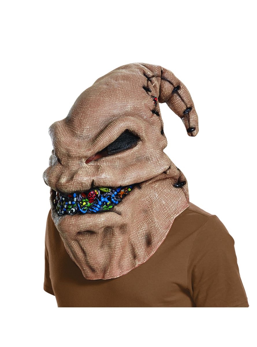 Oogie Boogie mask for adults - The Nightmare Before Christmas. The ...