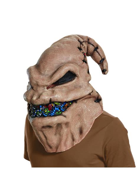 Máscara de Oogie Boogie para adulto - Pesadilla Antes de Navidad - para tu disfraz