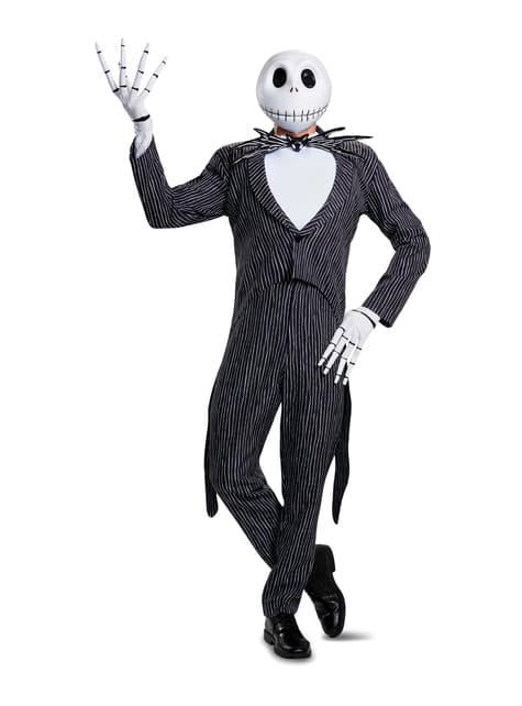 Disfraz de Jack Skellington prestige para adulto - Pesadilla Antes de Navidad - hombre