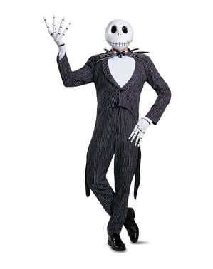 Deluxe Jack Skellington kostuum voor volwassenen - Nightmare Before Christmas