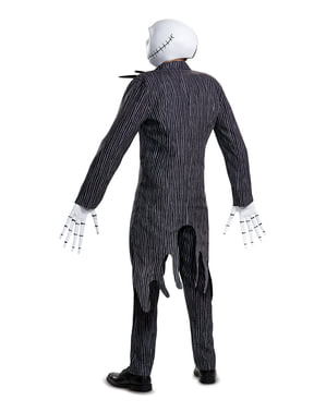 Strój Jack Skellington prestige dla dorosłych - Miasteczko Halloween