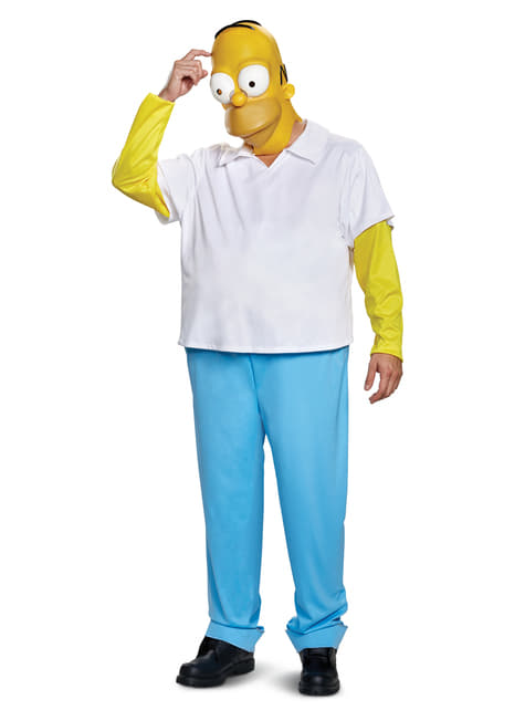 Homer kostuum deluxe voor volwassenen - The Simpsons