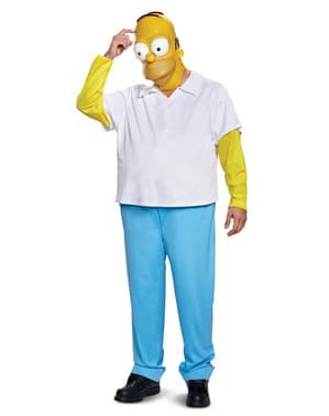 Maskeraddräkt Homer deluxe för vuxen - The Simpsons
