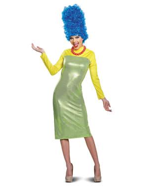 Kostium Marge deluxe dla dorosłych - Simpsonowie