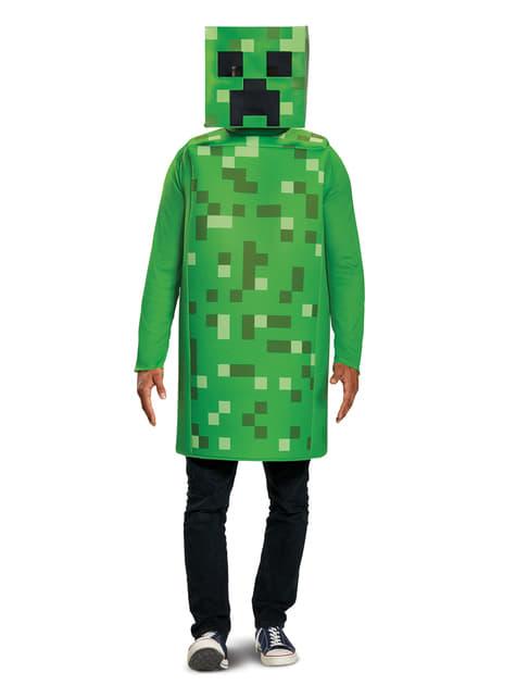 Disfraz de Creeper classic para adulto - Minecraft
