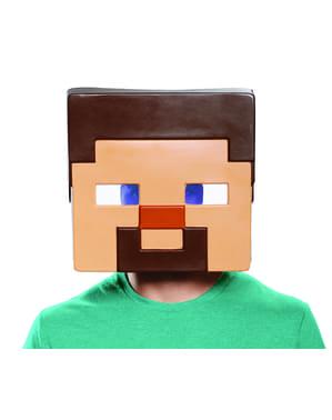 Mincraft - Steve maske til voksne
