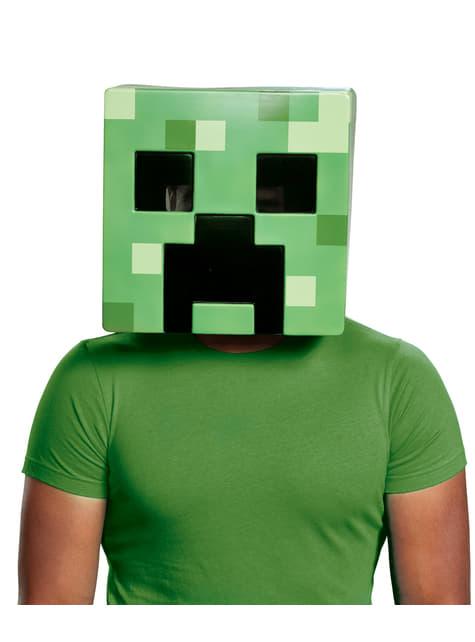 Máscara de Creeper para adulto- Minecraft