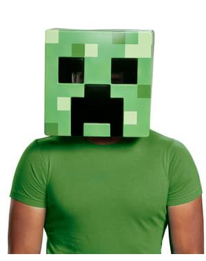 Creeper maske til voksne - Minecraft