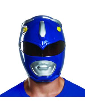 Power Rangers Mighty Morphin - blå Power Ranger maske til voksne