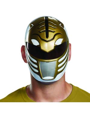 Mască Power Ranger albă pentru adult - Power Rangers Mighty Morphin