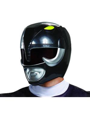 Hełm Power Ranger czarny dla dorosłych - Power Rangers Mighty Morphin