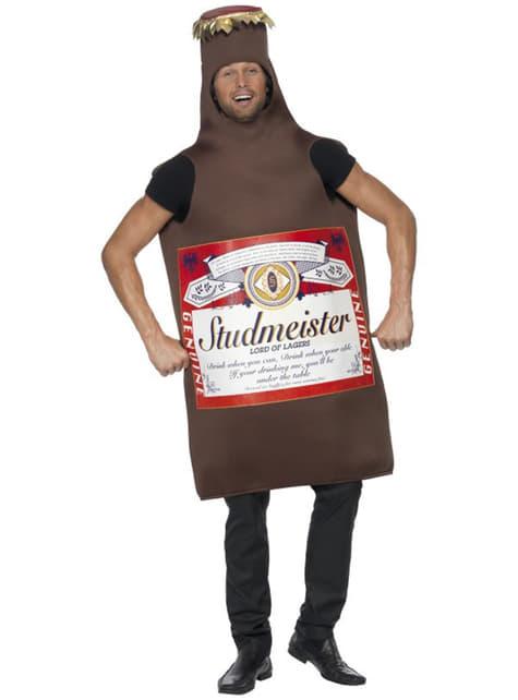 Kostým pro dospělé láhev piva Studmeister