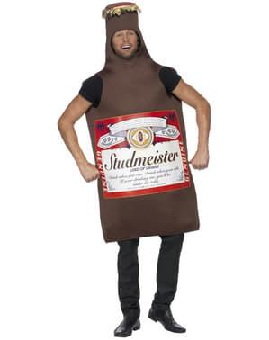 Kostým fľaša od piva Studmeister
