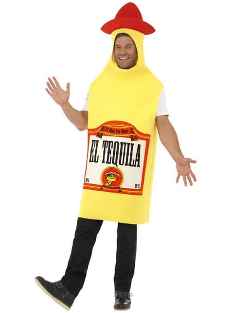 Disfraz de botella de tequila