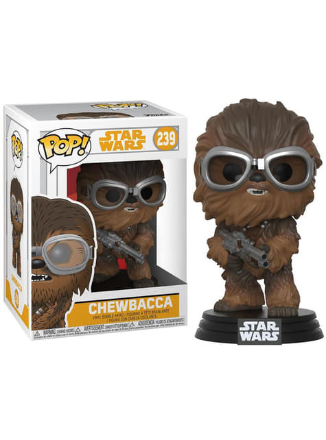 Funko POP! Bobble: Chewbacca lunettes - Solo: A Star Wars Story