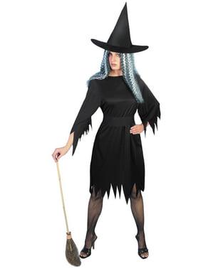 Fato de bruxa malvada para mulher