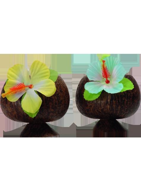 Vaso de coco hawaiano - comprar