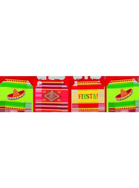 Bandeirola para festa mexicana