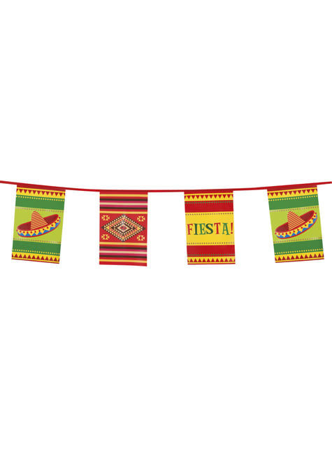 Banderín para fiesta mejicana - barato