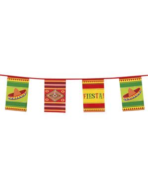 メキシコ風旗飾り