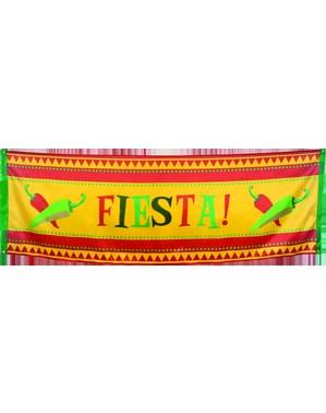 Bandeira decorativa para festa mexicana